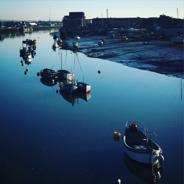 Shoreham River boats