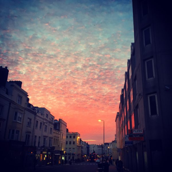 Western Rd Sunset