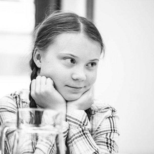 Greta Thurnberg BW Jim Stokes Photography
